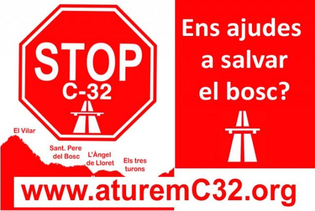 Aturem l'autopista C-32