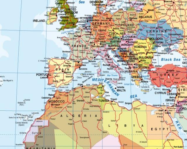 Mapa del Món amb Catalunya com Estat: Edició Especial